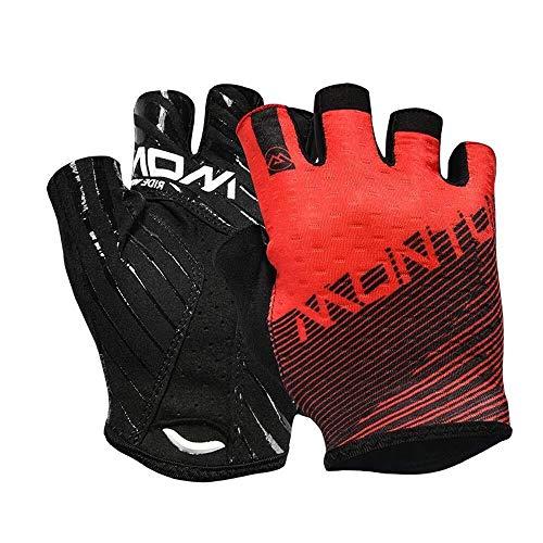 JIAHE115 Mini handschoenen Halve vinger handschoenen, fietshandschoenen, comfortabel en draagbaar outdoor mountainbike ademende halve vinger handschoenen