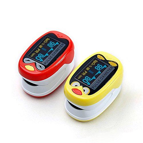 LED Niño Niños Infantil Pulso Oxímetro Médico Pediátrico Portátil SpO2 Monitor de oxígeno en sangre 🔥