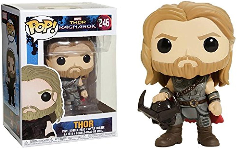 Thor 3  Ragnarok  Thor with Surtur Head Pop  Vinyl