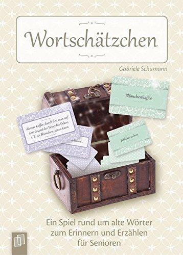Wortschätzchen: Ein Spiel rund um alte Wörter zum Erinnern und Erzählen für Senioren