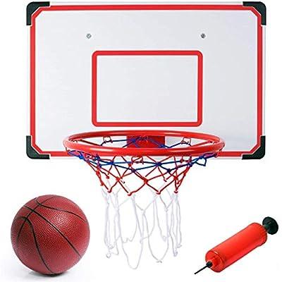 "Indoor/Outdoor XL Big Basketball Hoop Set - 27"" x 18"" Backboard + 15"" Rim"