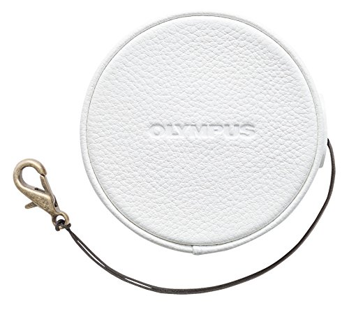 Olympus LC‑60.5GL Objektivdeckel (geeignet für PEN E-PL7, E-PL8, E-PL9) weiß