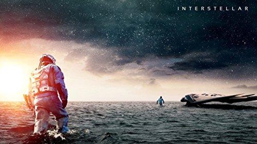 Interstellar 2014 poster 43 inch x 24 inch / 24 inch x 13 inch by bribase shop
