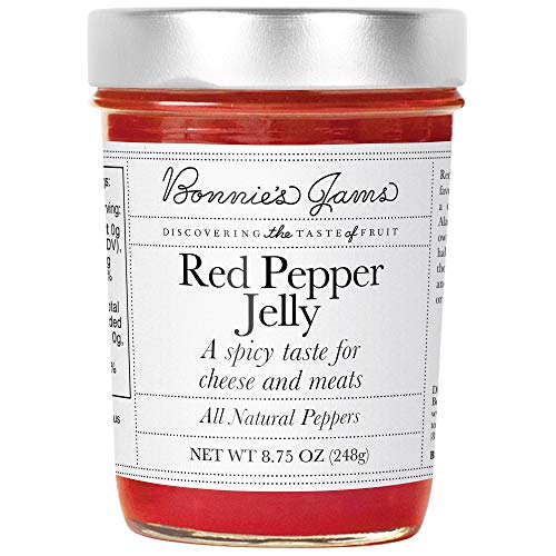 BONNIES JAMS Red Pepper Jelly, 8.75 OZ