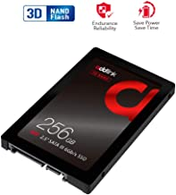 addlink S20 256GB SSD 3D NAND SATA III 6Gb/s 2.5 inch/7mm Internal Solid State Drive with Read 510MB/s Write 400MB/s