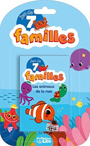 Jeu 7 Familles: Les animaux de la mer - Dès 5 ans