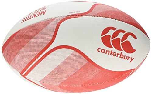 Canterbury Mentre Rugbyball M Rot (Flag Red)