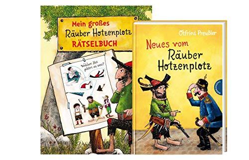 Thienemann-Esslinger Räuber Hotzenplotz Buch: Neues vom Räuber Hotzenplotz (Band 2, Gebundene Ausgabe) + Mein großes Räuber Hotzenplotz - Rätselbuch