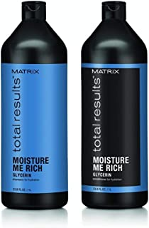 Matrix Total Results Moisture Me Rich Shampoo & Conditioner Value Pack (1 Litre)