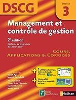 Management et contrôle de gestion de Pascale Brenet