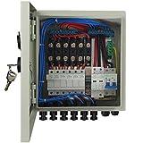 ECO-WORTHY 6 Kabel PV Combinierer Box für Solarmodule und Solar System Komplettset