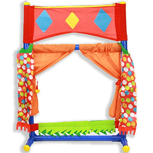 IQ Toys Table Top Puppet Theater...