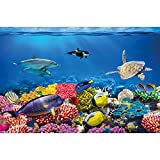 GREAT ART XXL Poster Kinderzimmer – Aquarium – Wandbild