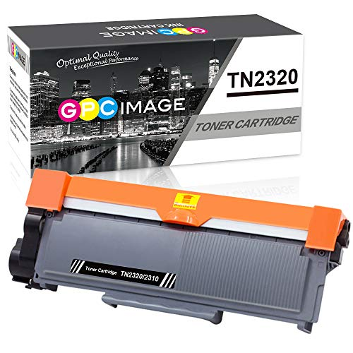 GPC Image TN2320 TN-2320 Kompatible Toner als Ersatz für TN2310 TN-2310 für Brother DCP L2500D L2520DW L2560DW, HL L2300D L2340DW L2360DN L2365DW, MFC L2700DW L2720DW, 2.600 Seiten (Schwarz, 1er-Pack)