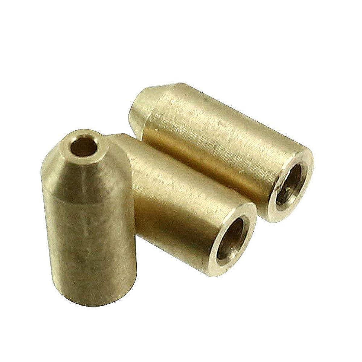 膿瘍同性愛者ライオンHomewineasy デュポン用 ライターガス 注入 変換アダプター 汎用 真鍮製 3個セット