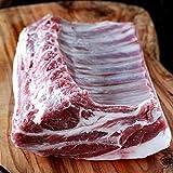 ラムの最高峰 穀物飼育 ラムラック 背骨除去済み 8リブ ラム肉 オーストラリア産 約800g