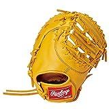 ローリングス(Rawlings) 野球用 ジュニア軟式 HYPER TECH R9 SERIES [ファースト用] サイズ11.5 GJ1R93ACDS ゴールドタン サイズ 11.5 ※右投用