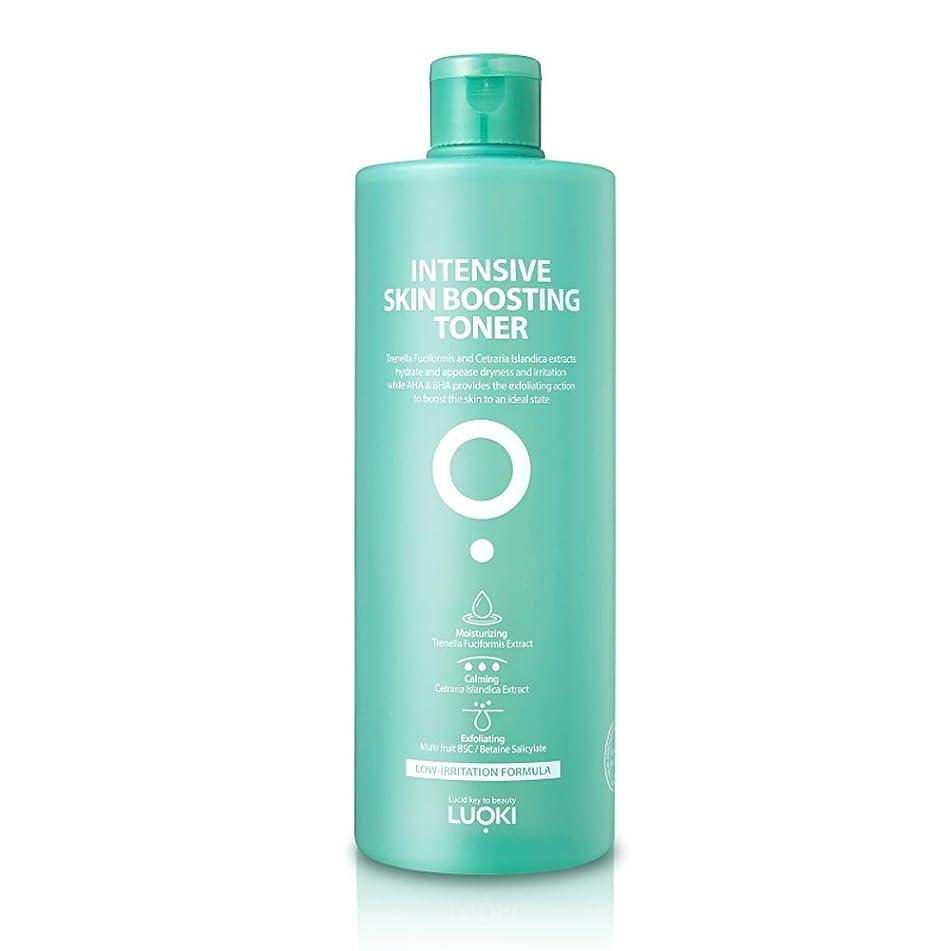 Luoki Intensive Skin Boosting Toner 500ml (16.9 fl oz) - Hypoallergenic Skin Soothing & Moisturizing Water Toner