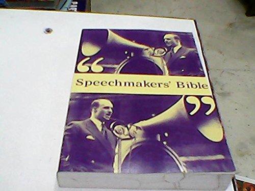 Price comparison product image Speechmakers' Bible