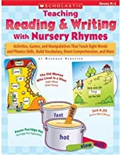 Teaching Reading & Writing with Nursery Rhymes: Grades K-1 (Paperback) - Common