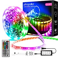 Long enough to jass up your entire big bedroom and light the whole place up 20 color options adjust brightness, choose colors and light modes Strip lights can be cut off every 3 leds along cutting marks to any length you want without damaging Led str...