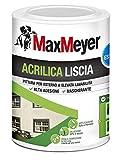 MaxMeyer Pittura per esterni Acrilica BIANCO 0,75 L