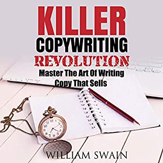 Killer Copywriting and Killer Copywriting Revolution audiobook cover art