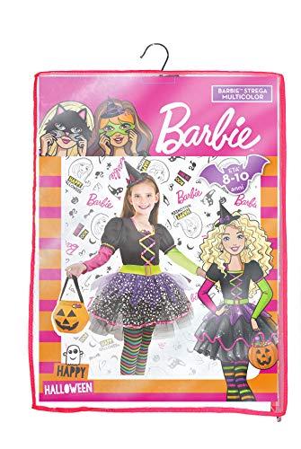 Ciao- Barbie Strega Multicolor Halloween Special Edition Costume Bambina (Taglia 5-7 Anni), 11659.5-7