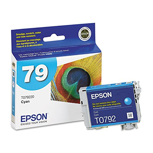 Epson T079220 Ink Cartridge Cyan - 1 Pack in Retail Packing