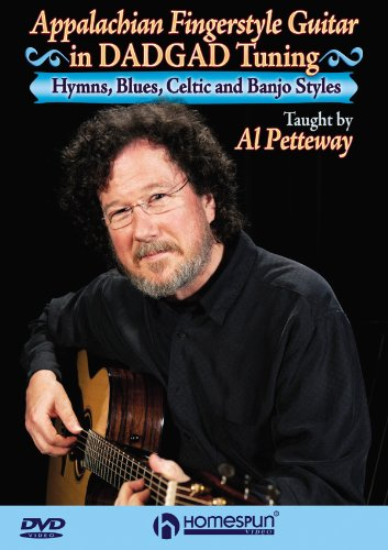 Appalachian Fingerstyle Guitar in DADGAD Tuning - Hymns, Blues, Celtic and Banjo Tunes taught by Al Petteway