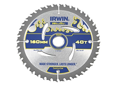 Irwin - Disco sierra circular weldtec 160mm/40t