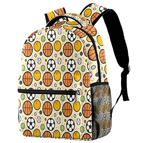 Mochila deportiva para baloncesto, fútbol, béisbol, escuela, viaje, casual, para mujeres, adolescentes, niñas y niños