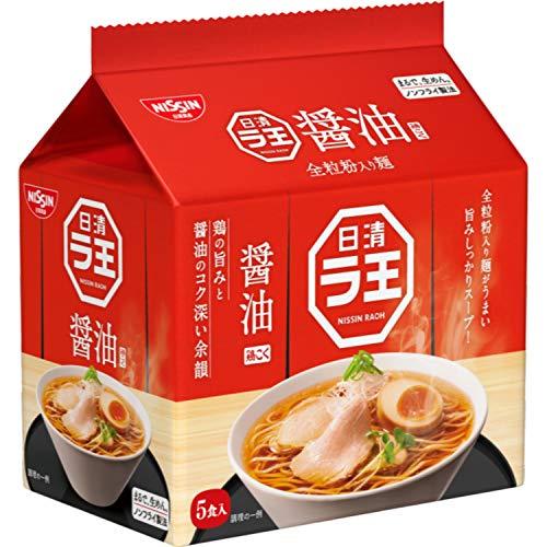 日清食品 ラ王 醤油 5食パック 505g×6パック