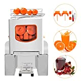 OneV FT Orange Juicer Commercial Auto Feed Orange Juicer Squeezer 120W Orange Juice Machine Squeeze 20-22 Oranges per Mins