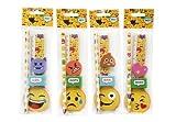 DISOK - Set 5 Pcs Papelería Emoticonos De Regalo - Detalles y Regalos para Bodas, Colegios, Guarderías, Bodas