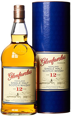 Glenfarclas12 Jahre Highland Single Malt Whisky (1 x 1 l)