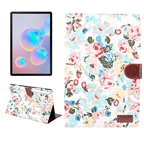 simple and practical For Samsung Galaxy Tab S7 T870 Flower Cloth Texture PC Horizontal Flip Leather Protective Case , with Holder & Card Slots & Wallet & Photo Frame,To meet your different needs
