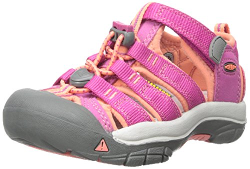 KEEN Little Kid (4-8 Years) Newport H2 Very Berry/fusion Coral Sandal - 12 Little Kid M