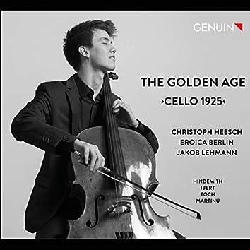 The Golden Age: Cello 1925