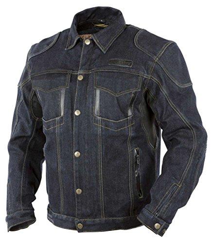 Trilobite Agnox Jeans-Jacke wasserdicht Herren blau Größe M