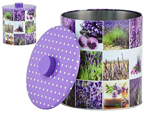 AVENUELAFAYETTE Boîte Pot métal Cuisine Lavande - Provence - 18 cm