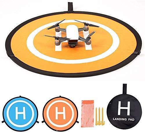 KINGWON 55cm Plegable Drone Landing Pad Pista de Aterrizaje Portátil para dji Mavic Pro, dji Mavic Air, dji Spark, dji Tello