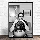 nr Hot Johnny Cash Rockmusik Band Star Retro Poster und