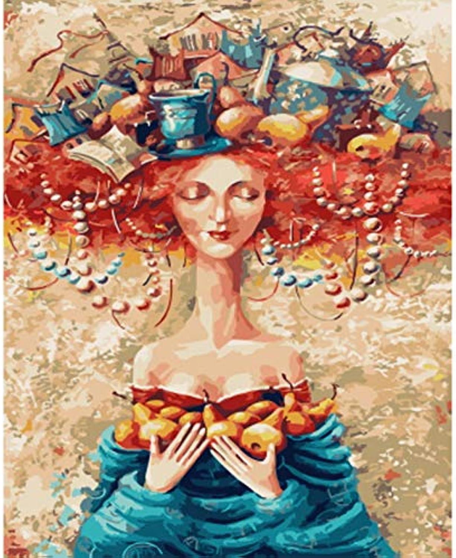 CZYYOU DIY Malen Nach Zahlen Färbung Nach Zahlen Für Wohnkultur Wand Dekor Leinwand Malerei Magischen Hut, Ohne Rahmen, 50x60cm B07Q6G139Y  | Zu einem erschwinglichen Preis