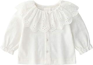 59ad6644b Algodón de los bebés Cardigan Botón de camisa de manga larga del niño hasta  Cardigan linda