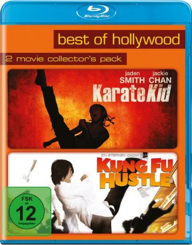 Kung Fu Hustle/Karate Kid - Best of Hollywood/2 Movie Collector's Pack [Blu-ray]