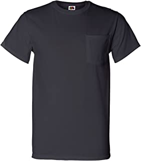 , Luxury Blues Collection Fruit of the Loom Mens Pocket T-Shirt Multipack 42-44 Large