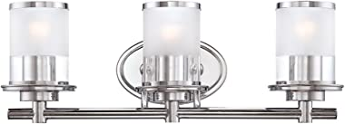 Designers Fountain 6693-CH Essence 3 Light Bath Bar, Chrome