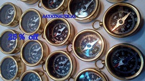 Samara Náutico Lote de 300 piezas de latón antiguo-brújula-brújula-NAUTICAL-GIFT 25% DE DESCUENTO B