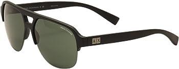 Armani Exchange Matte Black Frame Sunglasses